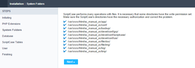 Verify the system's directory permissions