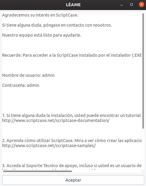 Instalador Para Linux Scriptcase Manual