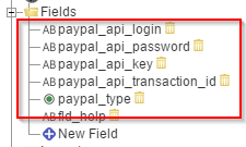Get details of a transaction in a Paypal account via cURL